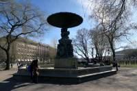 Molins fontän i Kungsträdgården.