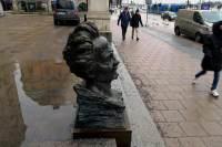 Statyn av August Strindberg